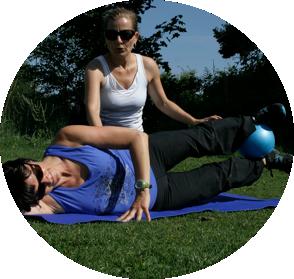 Personal Pilates Trainer in Berlin für Frauen